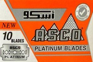 Lamette da barba Asco Platinum