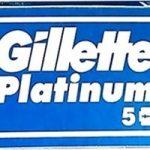 Gillette Platinum New Razor Blades