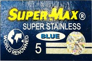 Lamette da barba Super-Max Super Stainless (Blue)