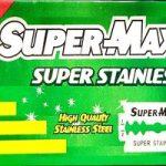 Super-Max Super Stainless (Green) Razor Blades