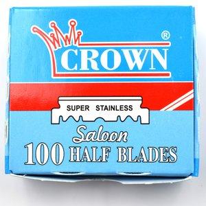 Crown Single Edge Razor Blades