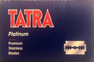 Tatra Platinum Razor Blades