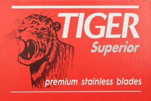 Tiger Superior Double Edge Razor Blades