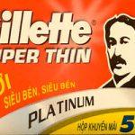 Lamette da barba Gillette Super Thin (Cina)