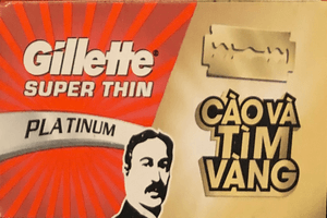 Lamette Gillette Super Thin (Vietnam)