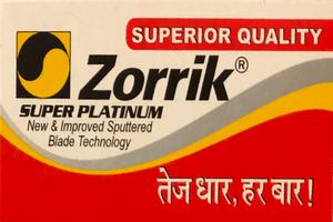 Zorrik Super Platinum (India) Razor Blades
