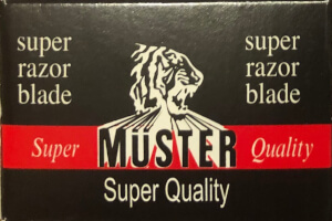 Muster Quality Razor Blades
