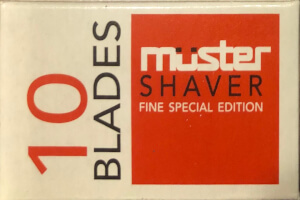 Muster Shaver Razor Blades
